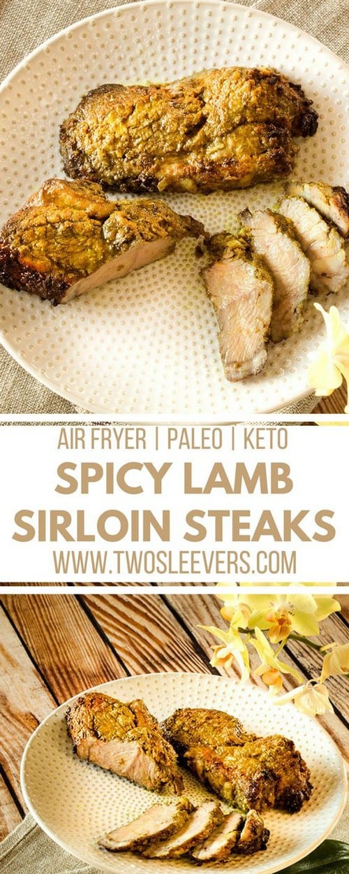 Keto Spicy Lamb Sirloin Steak