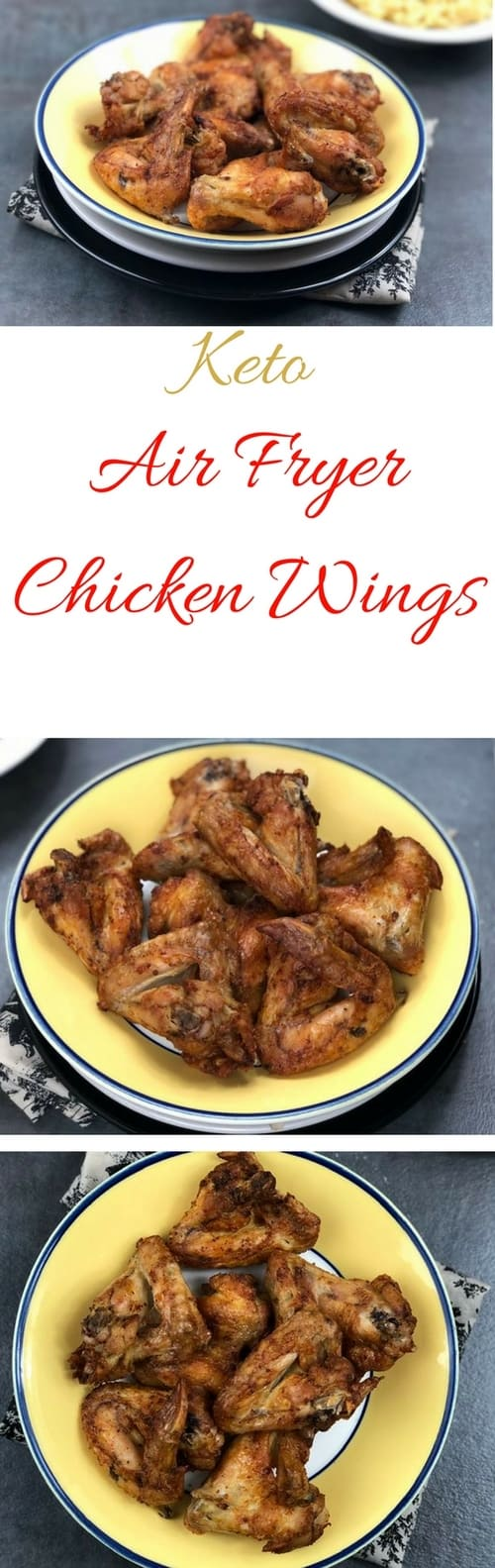 Keto Air Fryer Chicken Wings