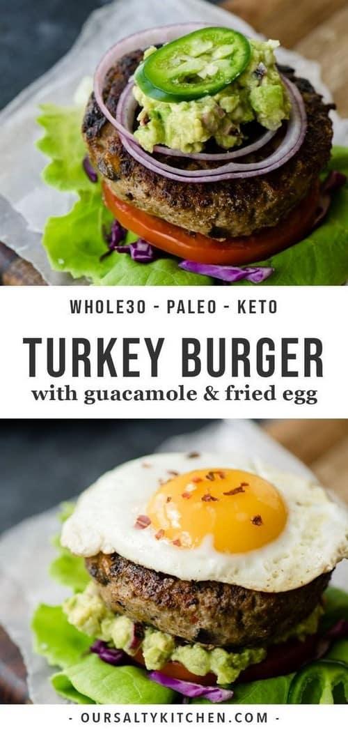 Keto Paleo Turkey Burgers