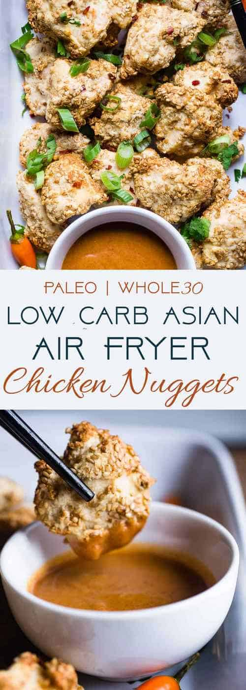 Low Carb Keto Paleo Baked Chicken Nuggets
