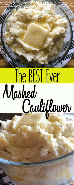 The Best Keto Mashed Cauliflower