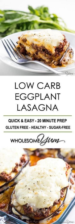 Keto Eggplant Lasagna