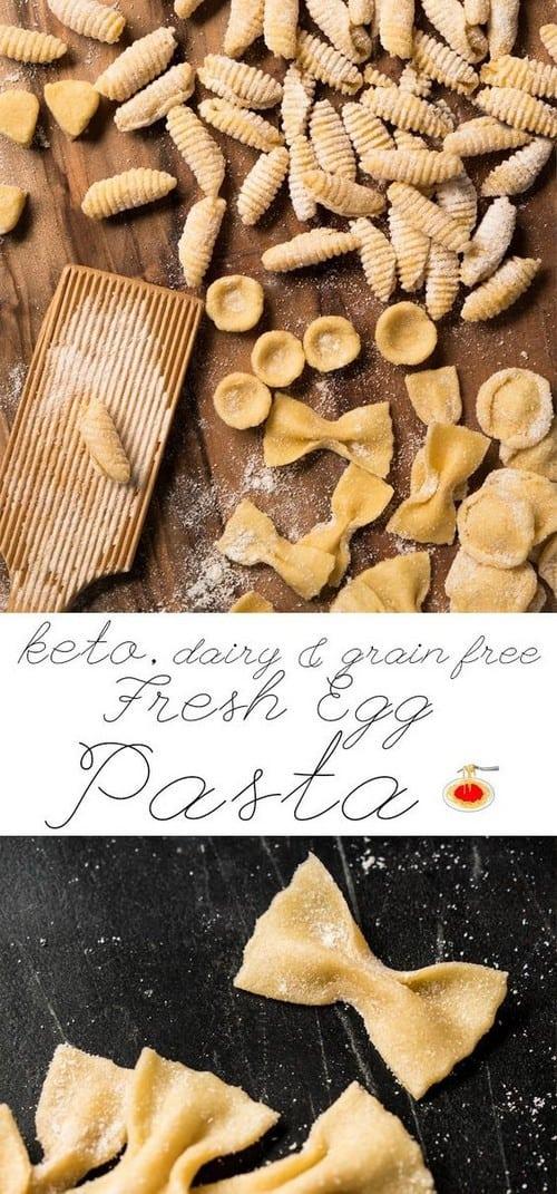 Fresh Egg Grain Free & Keto Pasta
