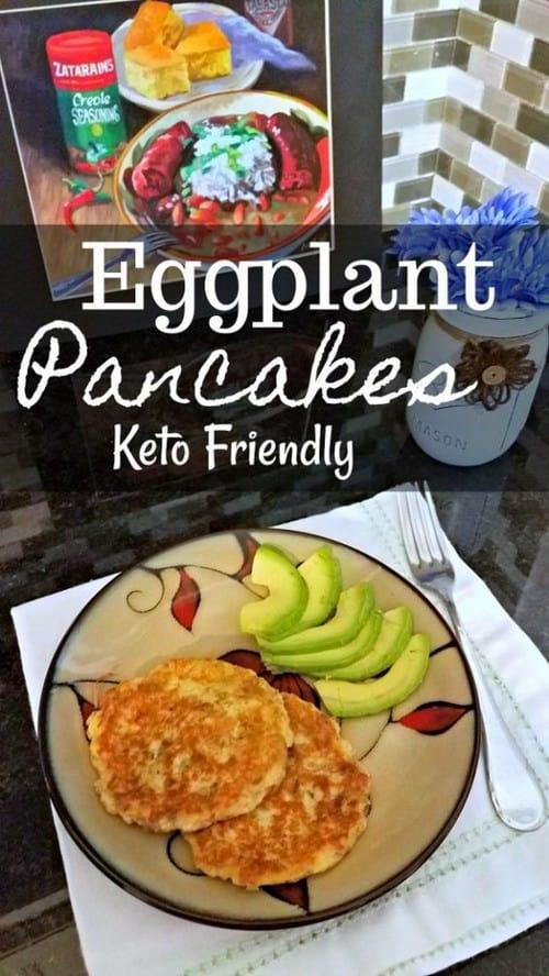 Keto Eggplant Pancakes