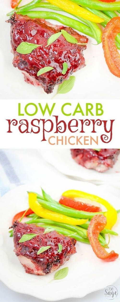 Keto Raspberry Chicken