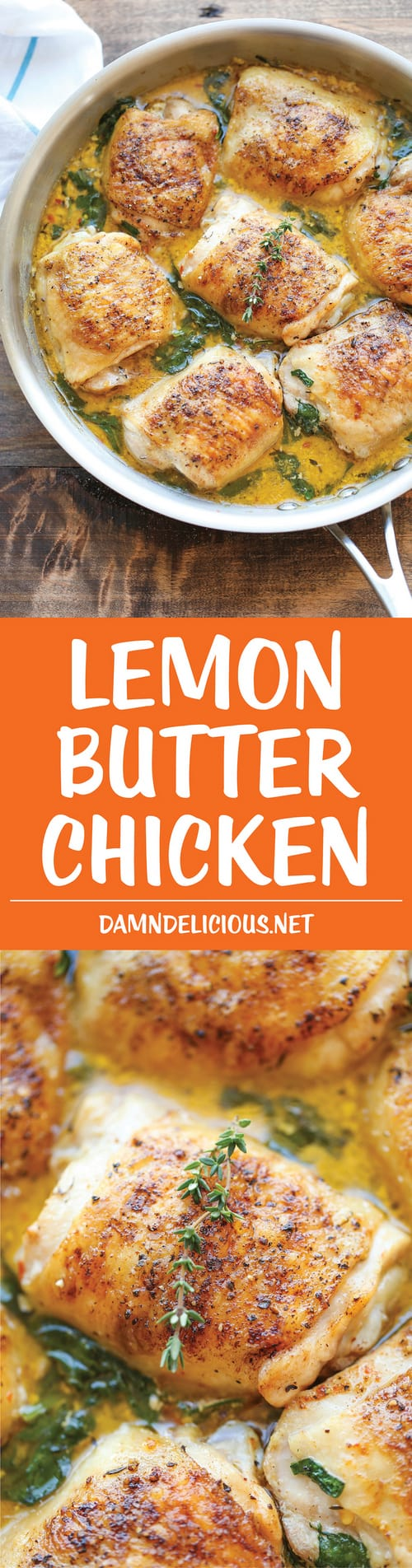 Keto Lemon Butter Chicken