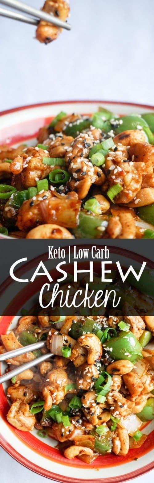 Keto Easy Cashew Chicken
