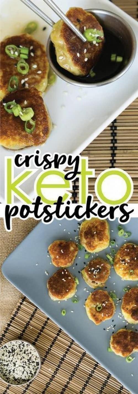 Keto Gluten Free Potstickers