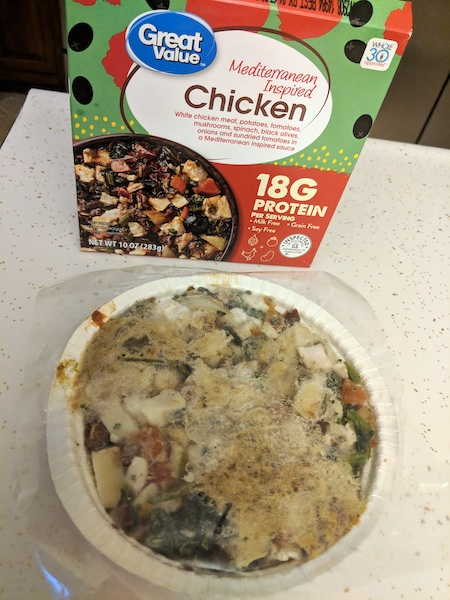 great value whole30 chicken meal