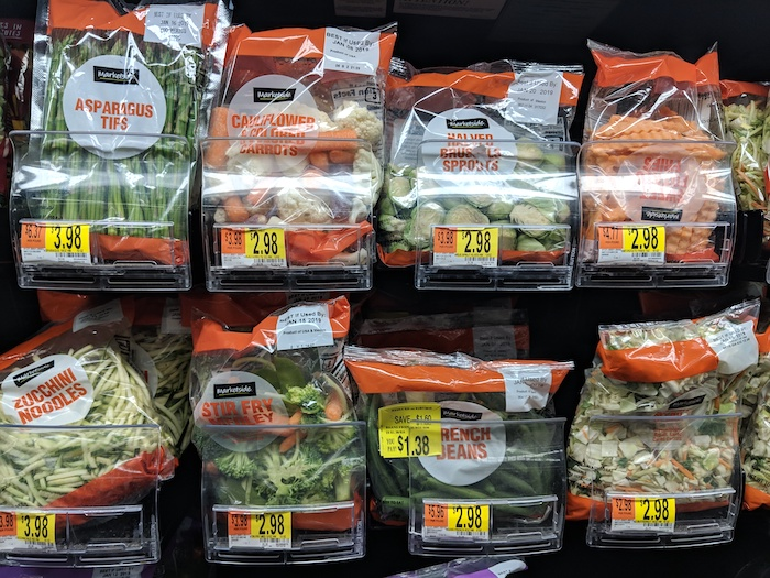 whole30 walmart veggies